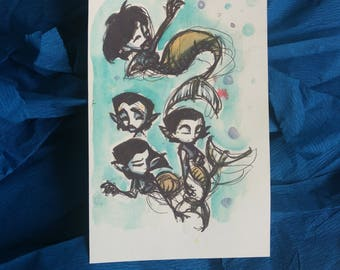 PRINT: The Little Mermaid