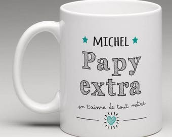 Personalized gift for a great grandpa mug