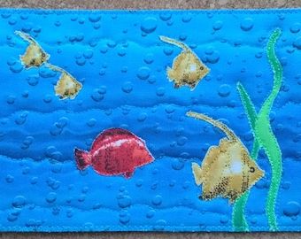 Postcard - School of Fish