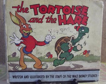 The Tortoise and the Hare. Written and Illustrated by the Staff of the Walt Disney Studios.1935