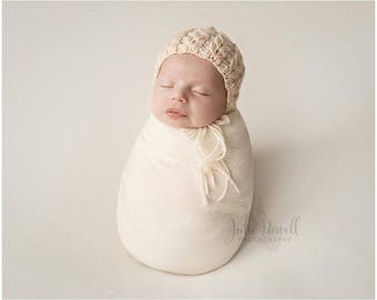 Knitting Pattern, Knit PDF Pattern,  Newborn Hat Pattern, PHOTO shoot prop,  Knit, Tutorial, PDF, Newborn hat, Simply Amazing Bonnet