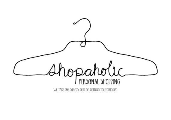 Fashion Blog Logo Fashion Logo Hanger Logo Shopping Logo