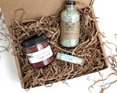 Spa Gift Set // Small // Organic Bath // Bath Set // For Her // For Mom