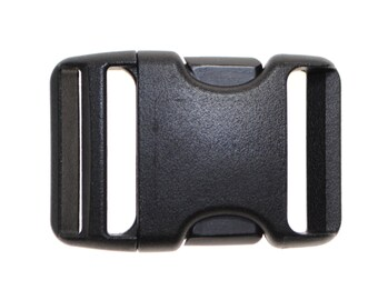 "1.5"" Nylon Side Release Buckles - Two, Five, Ten, Twenty, or Fifty"