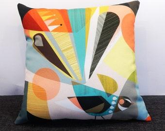 Modern Fantail, cushion cover