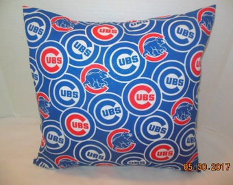Chicago Cubs Baseball Pillowcase/Sham