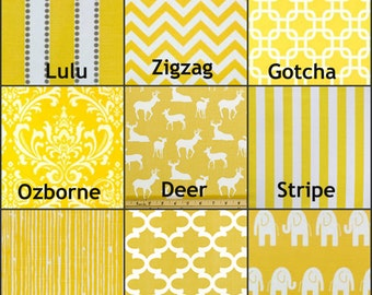 Premier Prints Yellow Fabrics