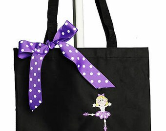 Dance Bag, Personalized Bag, Girls Dance Bag, Customized, Custom Dance Bag, Girl's Dance Bag, Personalized Dance Bag, Ballet Bag