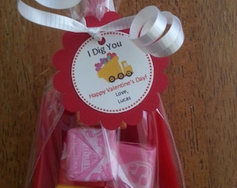 Valentine TAGS ONLY (set of 25)
