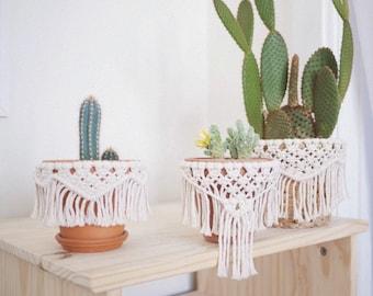 arden / macrame planter wrap / macrame home decor / macrame pot wraps / macrame planter decor / macrame plant hanger