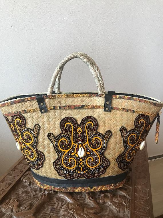 AFRICAN BAMBOO BAG