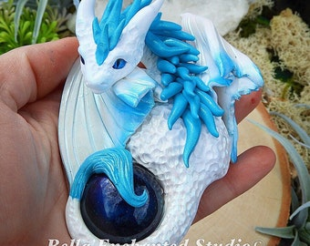 Call to Action! Polymer clay dragon