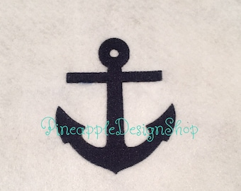 Anchor embroidery design, anchor embroidery, embroidery design