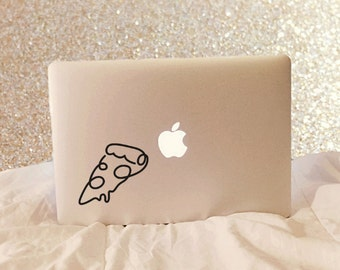 Pizza Slice, Laptop Stickers, Laptop Decal, Macbook Decal, Car Decal, Vinyl Decal