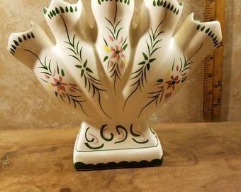 Handpainted Finger Vase