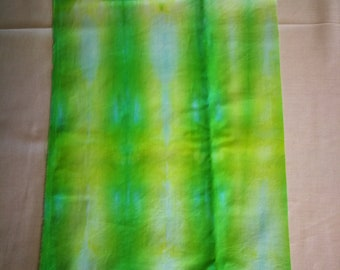 Hand Dyed Cotton - Lime Crush
