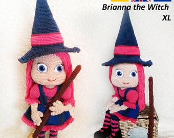 Brianna the Witch - Crochet Pattern