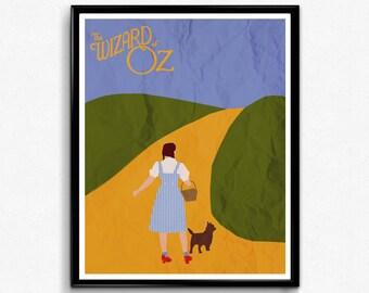 Wizard of Oz Movie Poster, Print