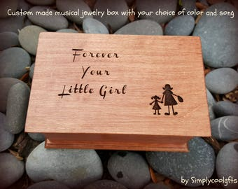 wedding gift box, musical jewelry box, mother of the bride gift, music box, jewelry box, wedding gift, gift for mom, mother of the bride