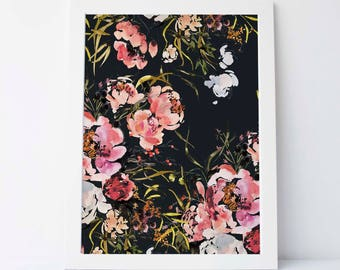 Shade Blossom in Ink - Fine Art Print