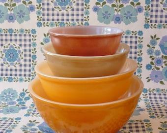 Australian Pyrex Nesting Bowls