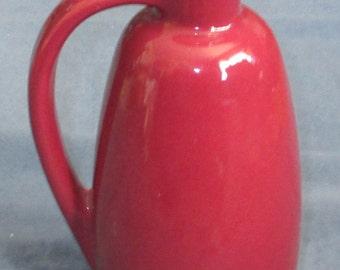 "Frankoma Pottery #835 handled Jug 8"" high"