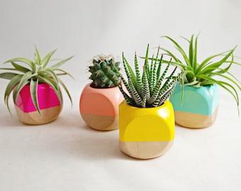 Mini Geometric  Planter (Plant not included) // Succulent Planter // Air Plant Planter