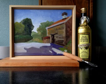 Oil-painting bakehouse