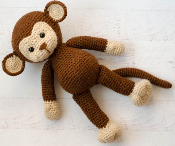 Amigurumi Magazine Pdf : Crochet monkey pattern amigurumi pdf monkey crochet
