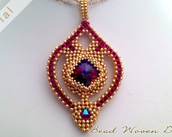 Sultana Pendant Tutorial: Video and PDF instructions