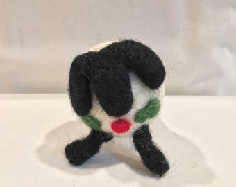 felted wool sheep