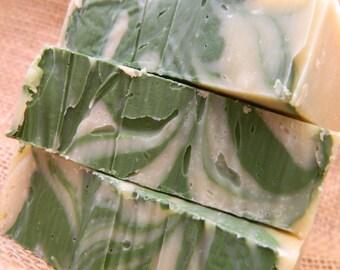 Juniper Breeze Cold Processed Goats Milk Soap, Handmade Soap, Natural Soap, Handcrafted Soap, Homemade Soap