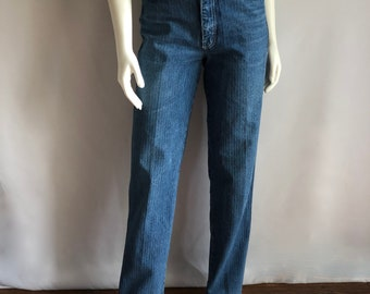 Vintage Women's 80's High Waisted Jeans, Long, Denim by Union Bay (S)