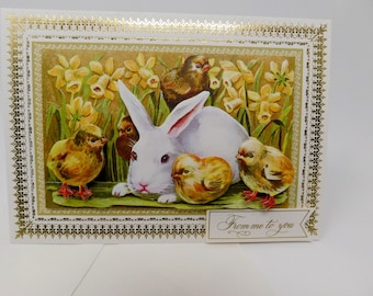 Card  Birthday Encouragement Get Well Friendship Easter From Me to You