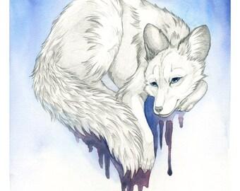 "Giclee print of ""DreamFox"""