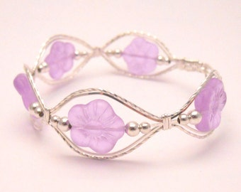 Color Changing Flower Bracelet