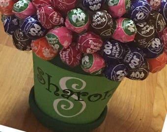 Personalized Lollipop Bouquet