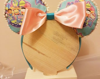 Small World - Mickey Mouse Style Ears