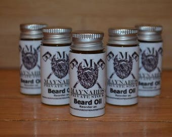 Beard Oil - Sample Pack, best selling items, beard conditioner, self care, groomsmen gift set, hair growth products, essential oil blends,