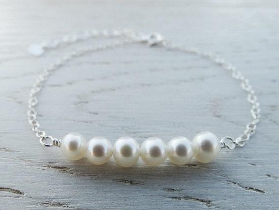 Pearl Bracelet - Sterling Silver