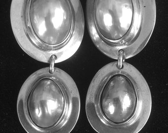 Osmena Pearl and Sterling Silver Clip On Earrings