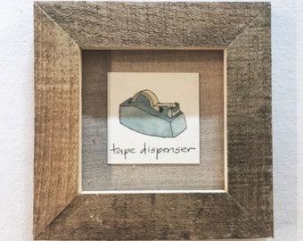 diminutive doodle: tape dispenser