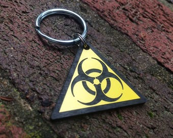 Biohazard Key Chain