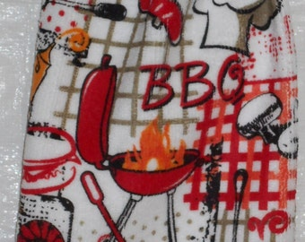Barbeque Grillling  Kitchen Towels