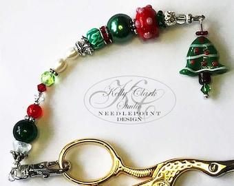 Oh Christmas Tree Scissor Fob