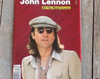 john lennon all you need is love magazine, vol 1, no. 1, 1980