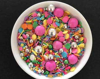 KALEIDOSCOPE Mix, Sprinkle Mix, Baking Supplies, Australian Sprinkles, Get Sprinkled Shop Australia