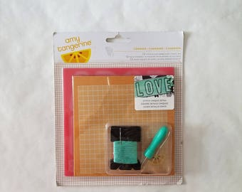 Embroidery Stencil Kit - Amy Tangerine for American Crafts