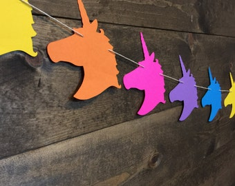 Unicorn Garland | Consultant | Pop Up Shop |Unicorn Banner | Unicorn Birthday