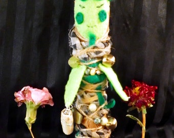 Little Forest Guardian - OOAK - Poppet - Voodoo doll - Collector doll - Gypsy